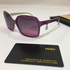 Fendi Fuchsia Sunglasses